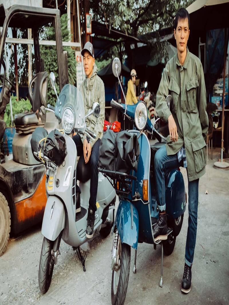 Thuê xe máy ở Hạ Long